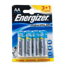 Батарейка Energizer Maximum LR06 AA FSB4 1 шт