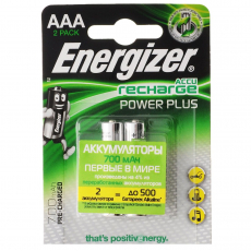 Аккумулятор Energizer Power Plus NH12 700 BP2 Pre-Ch
